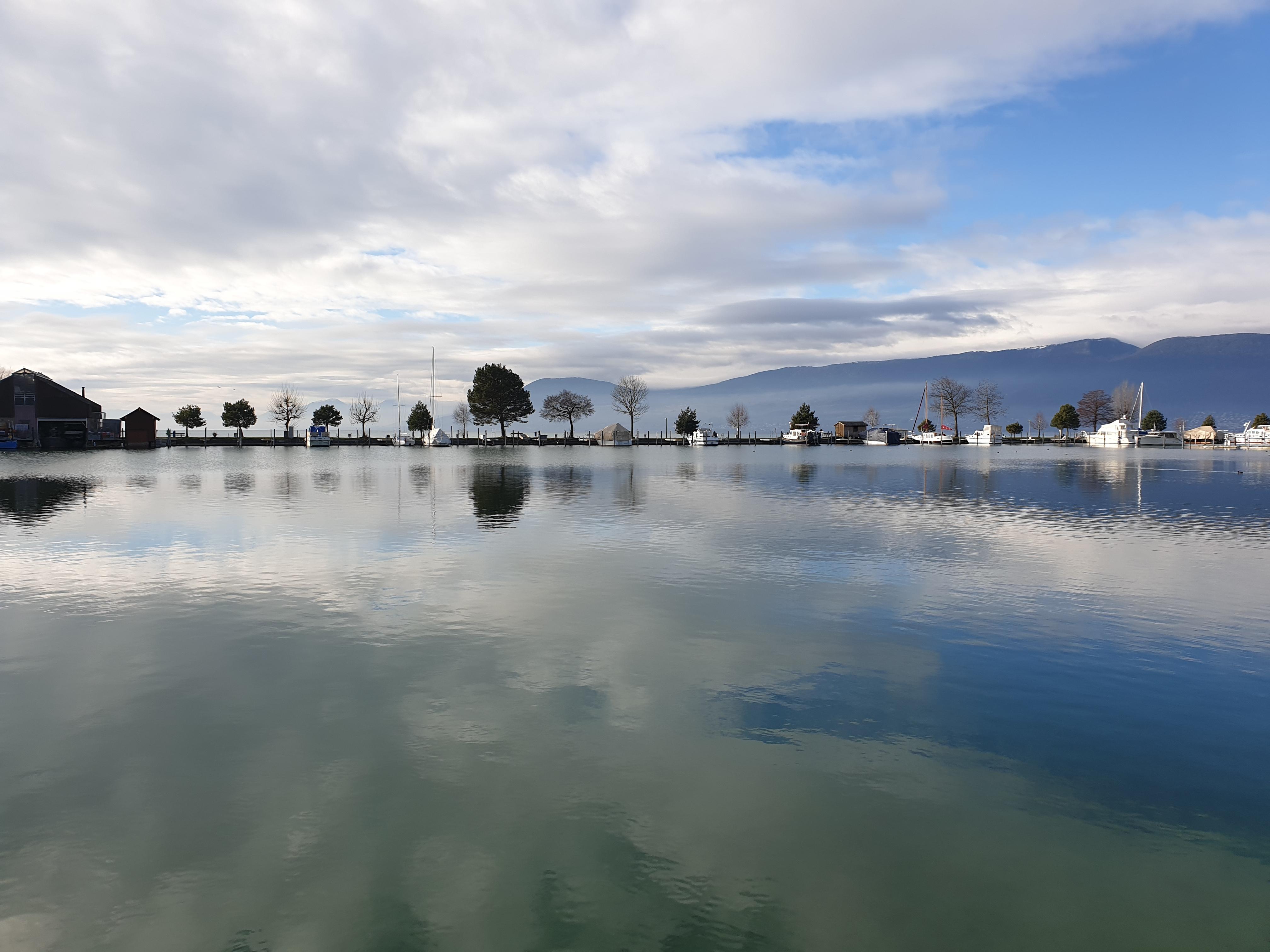 "Jahreswechsel am ""Lac du Neuchatel"""